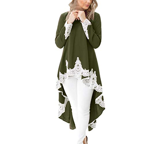 kleid Rockabilly Lange Ärmel Retro CocktailKleid Jumpsuit Kurz Ballkleid Kleiderbügel Damenkleider Kurz Hepburn KleidGN,S ()