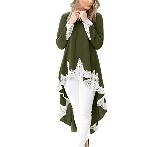 Lange Ärmel Beiläufiges Strandkleid Ausgestelltes Trägerkleid Knielang Jumpsuit Kurz Ballkleid Kleiderbügel Damenkleider Kurz Hepburn KleidGN,M -