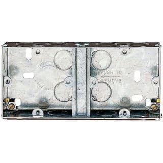 DUAL METAL BACK BOX (35MM) SF636 By APPLEBY