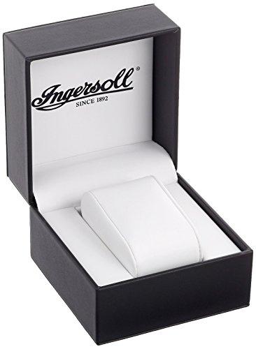 Ingersoll-IN2811BK-Yellowstone-Herrenuhr-Automatik Analog Leder Schwarz - 4