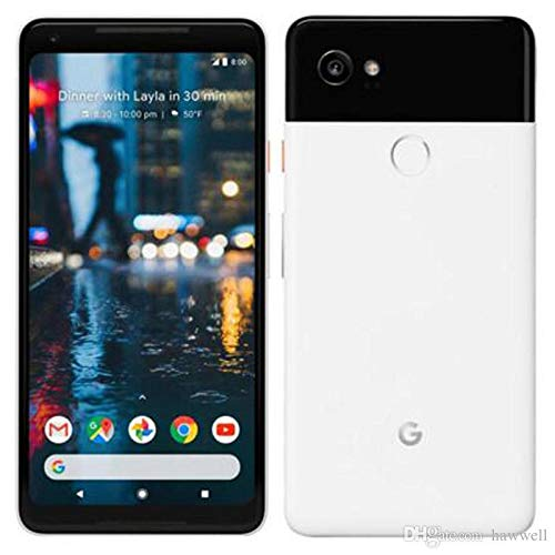 google ga00138-de pixel 2 xl 128gb - smartphone nero/bianco