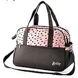 Wickeltasche, Handtasche für Mütter für Babysachen, Windeln, Kinderzimmer, multifunktionale Tasche, Schultertasche