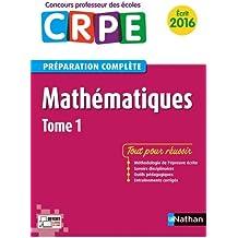 Mathématiques - Tome 1