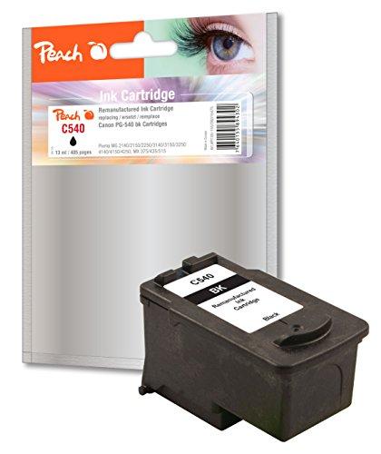 Preisvergleich Produktbild Peach Druckkopf schwarz kompatibel zu Canon PG-540