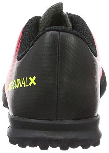 Nike Mercurial Vortex Iii Turf, Scarpe da Calcio Unisex – Bambini Rosso (Total crimson/volt-black-pink blast)