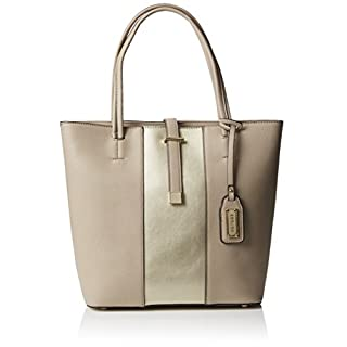 Henley Womens Anika Tote MINK/GOLD