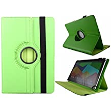Theoutlettablet® Funda Verde Giratoria 360º para Tablet Wolder Mitab Berlin / Amsterdam / Roma / Bucarest / Oregon / Vermont / Arizona / Colors 10.1""