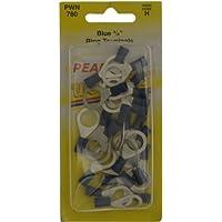 Pearl Pwn780Connecteurs de câble à bague–Bleu (lot de 25)