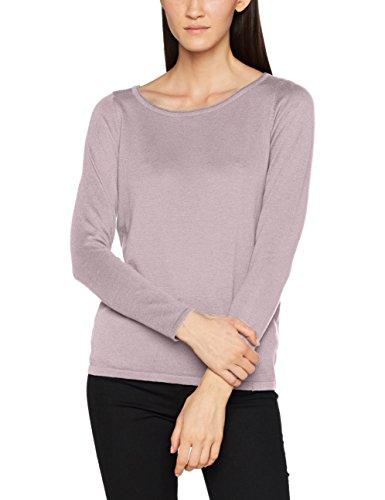 ESPRIT Damen Pullover 087EE1I026, Violett (Mauve 5 554), X-Small (Mauve Bekleidung)