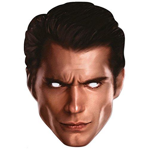 Superman Maske aus Pappkarton für Erwachsene (Superman Custom Kostüme)