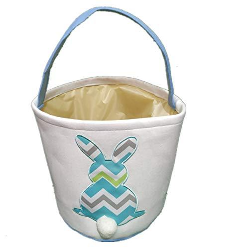 hen Ostern Bunny Basket Ostern Party Geschenke/Eier Tasche für Ostern Hunt ()