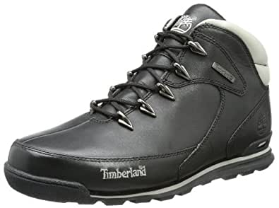 Timberland Earthkeeprs Euro Rock, Men's Chukka Boots, Black, 6.5 UK, 40 EU
