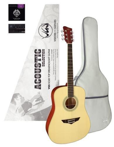 VGS Westerngitarren Set- Acoustic Selection Mistral, inkl. Stimmgerät und GigBag