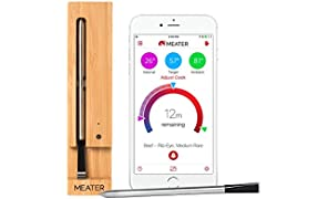 MEATER – 100% Wireless Meat Thermometer: No wires. No fuss. Track your cooks wherever you are