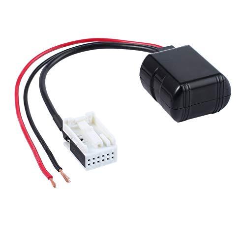 CAMWAY Bluetooth AUX IN Adapter Kabel Radio Audio Navigation Handy für Mercedes Benzl NEU