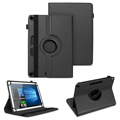 NAUC Universal Tasche Schutz Hülle Tablet Schutzhülle Tab Case Cover Bag Etui 10 Zoll, Farben:Schwarz, Tablet Modell für:Blaupunkt Endeavour 101M 101L
