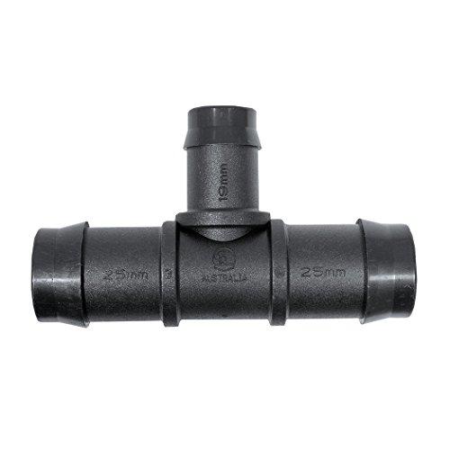 Plant it Réducteur à raccord en T 25/19 mm – 25 Pack – 45125, noir, 25,4 x 17,8 x 7,7 cm, 13–630–270