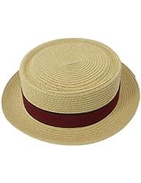 Hechgobuy Gorras Sombrero de Paja Sombrero de Caballero Sombrero Fiesta  Reunión Fiesta en la Playa (Color   - 5f6835c56ad