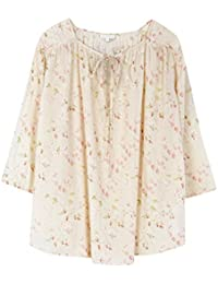 Hoss Intropia Women's Tunic Floral 3/4 Sleeve Blouse
