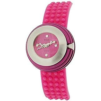 Eton KT14Pink – Reloj para mujeres, correa de silicona color rosa