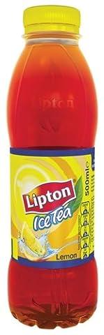 Lipton Ice Tea Lemon 500ml Ref A04087 [Pack 12]