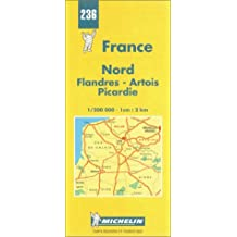Carte routière : Nord - Flandres - Artois - Picardie, N° 236