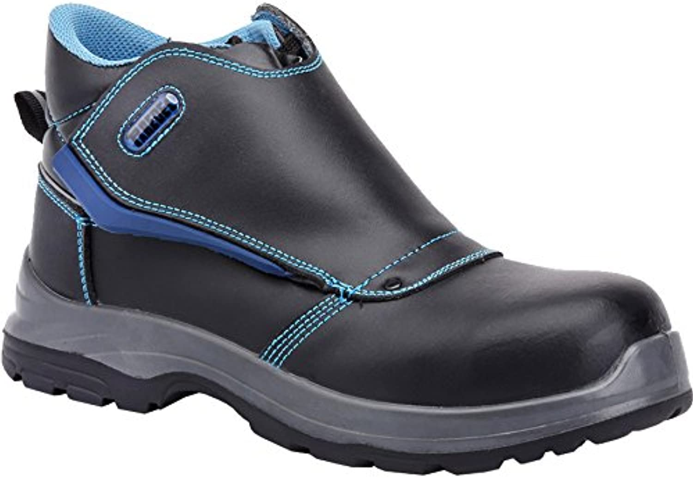 Paredes sp5021 NE45 Coltan – Zapatos de seguridad S3 talla 45 NEGRO/AZUL