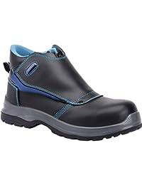 Paredes sp5021NE45Coltan–Zapatos de seguridad S3talla 45NEGRO/AZUL
