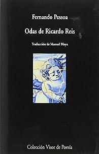 Odas De Ricardo Reis par Manuel Moya