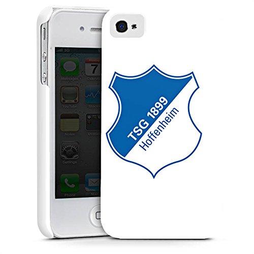 Apple iPhone X Silikon Hülle Case Schutzhülle TSG Hoffenheim Fanartikel Fußball Premium Case glänzend