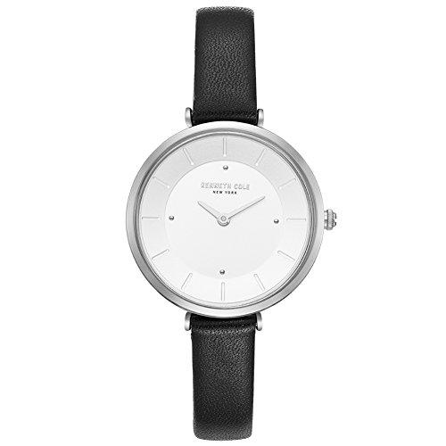 Kenneth Cole Reloj Analógico para Mujer de Cuarzo con Correa en Cuero KC50306003