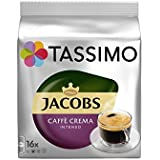 Tassimo Jacobs Caffé Crema Intenso (16 Portions) (Pack de 2)