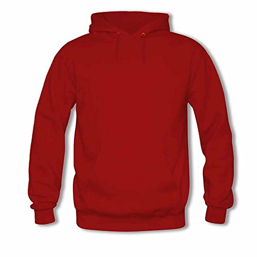 Winter Womens Plain Cotton Pullover Hoodie XXL