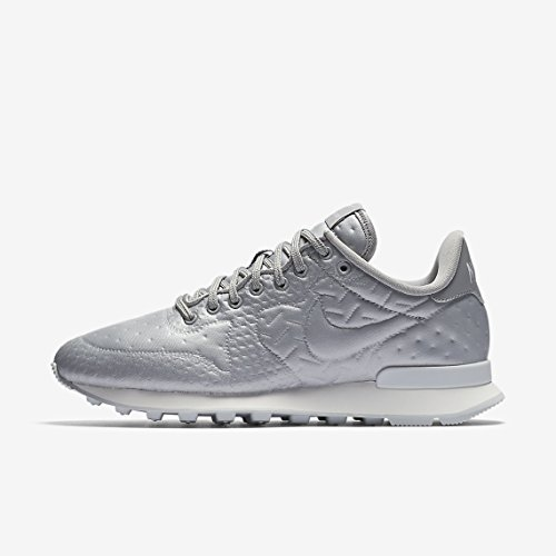 best service b70b1 aff14 Nike 859544-901, Damen Lauflernschuhe Sneakers, Metallic Silver 001 -  Größe  36.5 EU