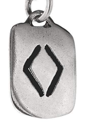 runas llavero de ING de 925plata de ley nº 313