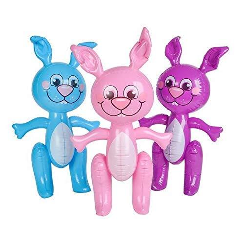SHOP AND GATHER Ostern Bunnies 61cm Bunny Aufblasen Blow up Dekoration 24