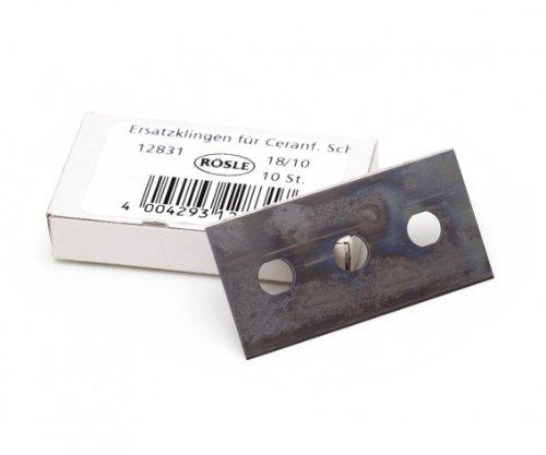 Rosle 12831 Lame pour racloir plaques vitrocéramique, INOX