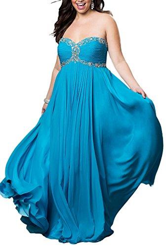 Bridal_Mall - Robe de mariage - Trapèze - Femme Bleu
