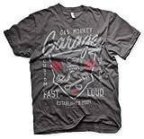 Gas Monkey Garage T-Shirt Fast´n Loud Darkgrey-L