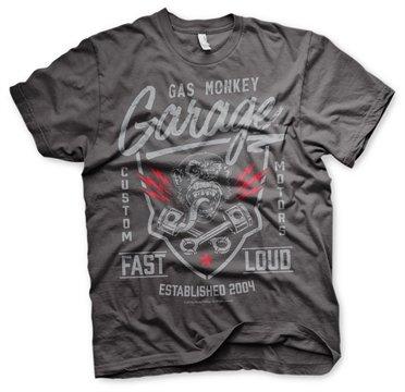Gas Monkey Garage T-Shirt Fast´n Loud Darkgrey-XXL -