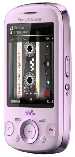 Sony Ericsson Zylo Handy (6,6 cm (2,6 Zoll) Display, Touchscreen, 3,2 Megapixel Kamera) rosa