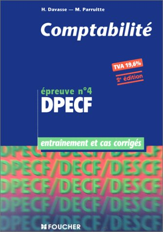 Comptabilit DEPCF, preuve n 4, entranement et cas corrigs