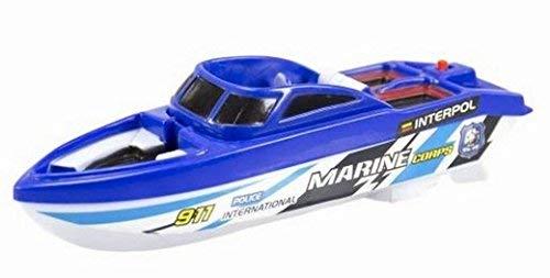 JUINSA-Motorboot, Motorboot Polizei elektrisch, 24cm (84496)