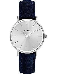 Cluse Reloj Analogico para Mujer de con Correa en Cuero CL30041