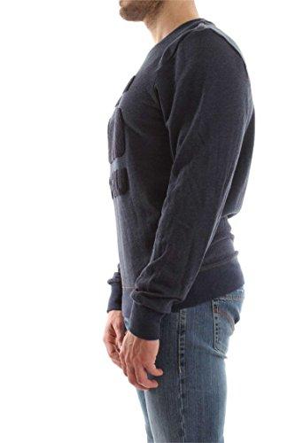 G-STAR RAW Herren Sweatshirt Yster R Sw L/S blau melange