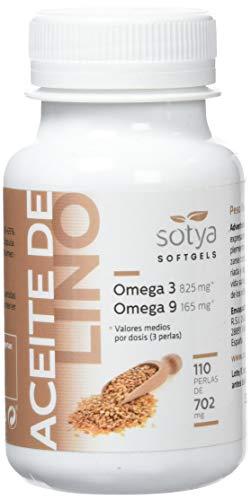 Sotya Aceite de Lino, 110 Perlas, 710 mg