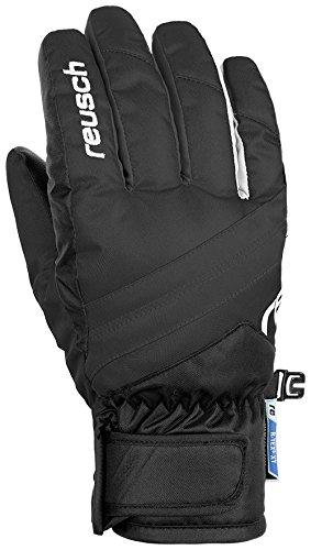 Reusch Jungen Dario R-TEX XT Handschuhe, Black/White, 3 | 04050205816582