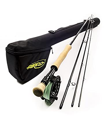 Airflo Elite Complete Salmon or Trout 4 Section Lightweight Ex Demo Fly Fishing Kits from Airflo