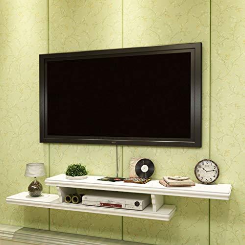 JTQMDD Estante de pared colgar en la pared TV gabinete TV de fondo ...