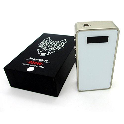 Snow Wolf 200W TC Box Mod - White - NO NICOTENE IN THIS SALE
